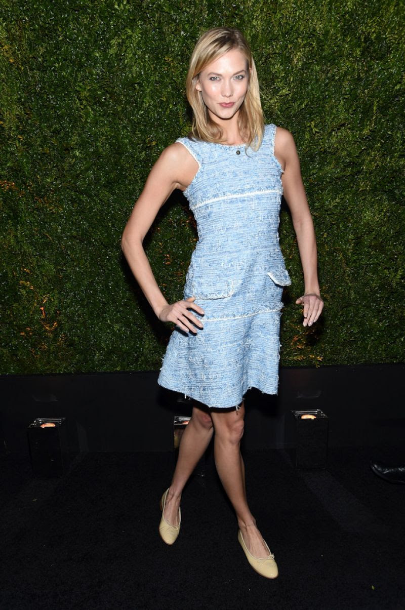 KARLIE KLOSS at Chanel Dinner at Tribeca Film Festival in New York