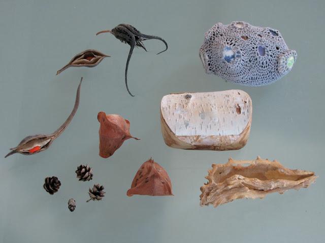 Pudding stone and natural treasures