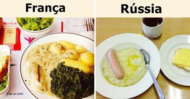 O que crianças em todo o mundo comem no almoço em suas escolas