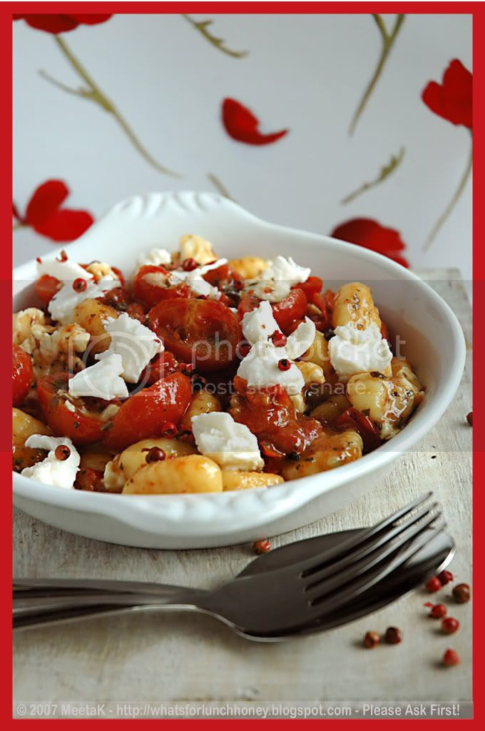 Caramelized Tomatoes Gnocchi 02 by MeetaK