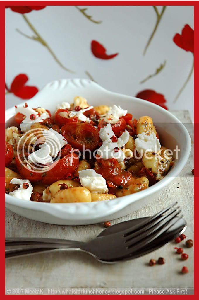 Caramelized Tomatoes Gnocchi 02 by MeetaK