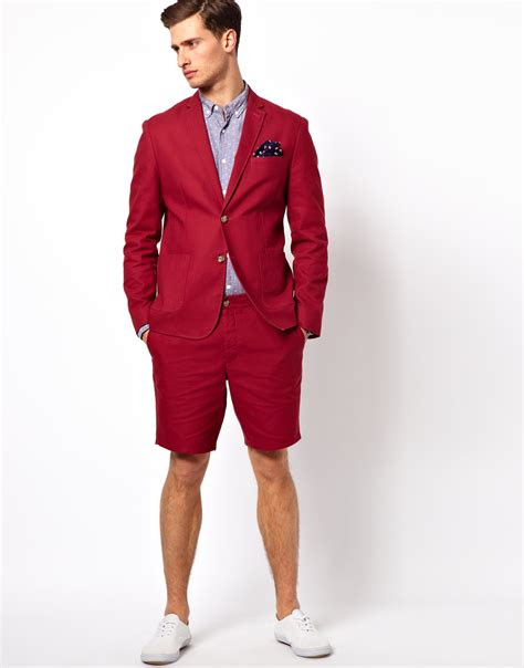 red fitted suit dress yy