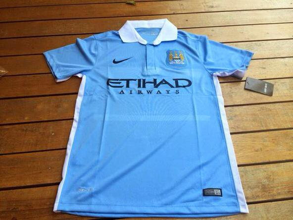 Manchester City home shirt for 2015-16 season: Leaked ...