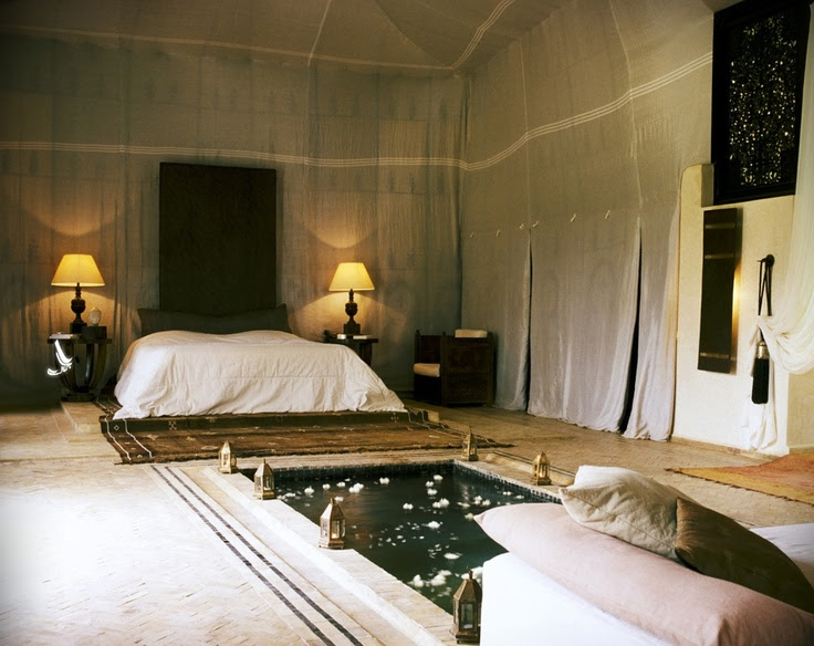 The Palais Rhoul in Morocco.    So beautiful.