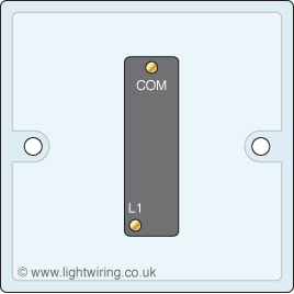 Single Gang 1 Way Light Switch Light Wiring