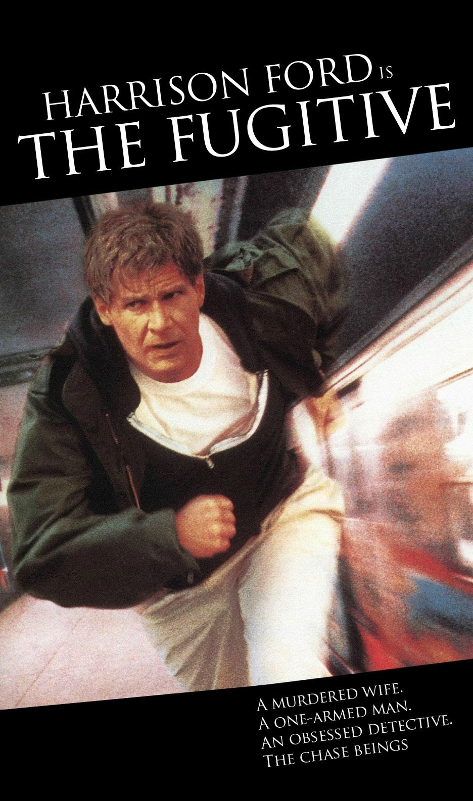 Font used in the movie poster for The Fugitive? : identifythisfont