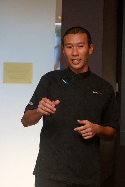 Chef Jusman So of Sage