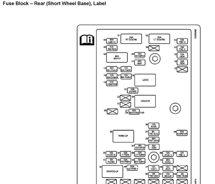 31 2004 Trailblazer Fuse Box Diagram