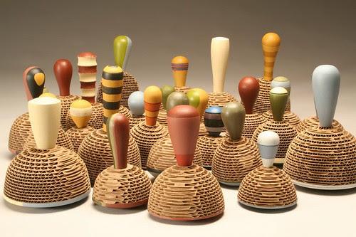 cardboard-sculpture-WOBBLE-TOPS