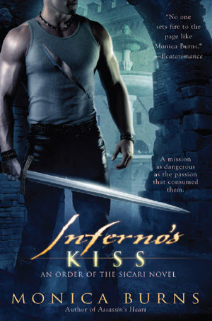 Inferno's Kiss (Order of the Sicari, #3)