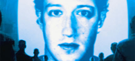 Video image montage Facebook creator Mark Zuckerberg, 06/15/09. (image: Media Orchard)