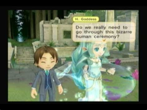 Harvest Moon Animal Parade: Wedding with Harvest Goddess