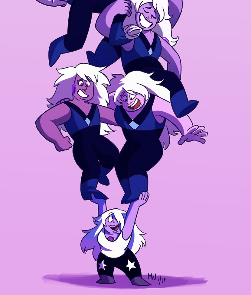 Okay man, I hope we get to see an Amethyst uprising in the future, since these guys deserve a break after dealing with Holly Blue all the time. And that whole scene with the Famethyst was funny as...