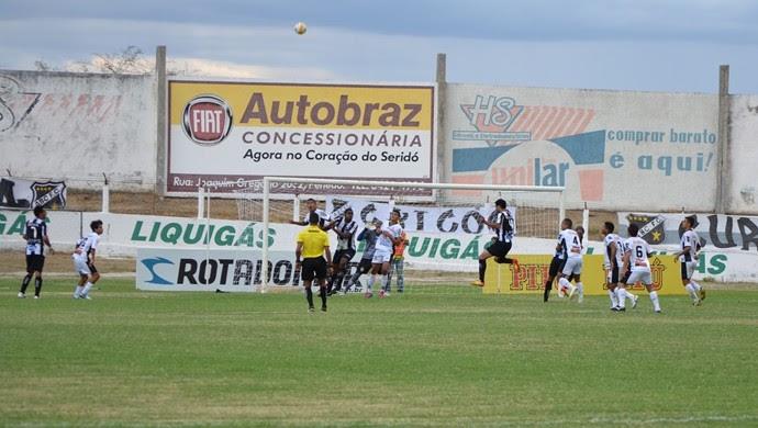 Corintians-RN x ABC, no Marizão (Foto: Ilmo Gomes/Cedida)