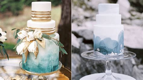 The 12 Watercolor Wedding Cakes Perfect for Your Wedding