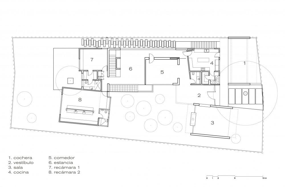 planos, Casa Torres, GLR arquitectos