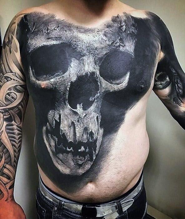 50 Unique Chest Tattoos For Men Masculine Design Ideas