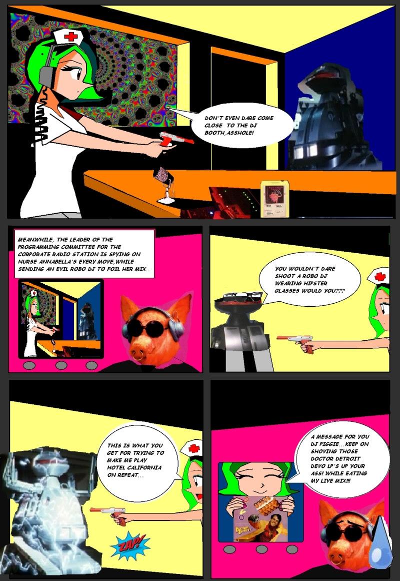 Lava Lamps & 8-Track Theatre - Lava Lamps & 8-Track Theatre - Page 4, Issue 1
