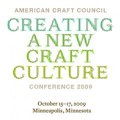 Faythe Levine speaking at Creating A New Craft Culture