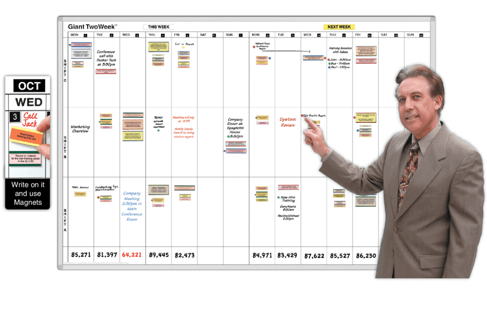 Daily Planner | Magnatag Whiteboard and Dry Erase Systems