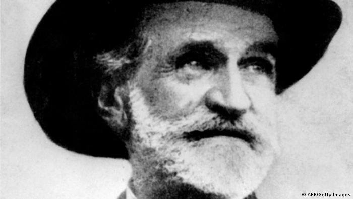 MILANO, ITALY: Picture dated 1900 of Italian composer Guiseppe Verdi (1813-1901). (Photo credit should read AFP/AFP/Getty Images)