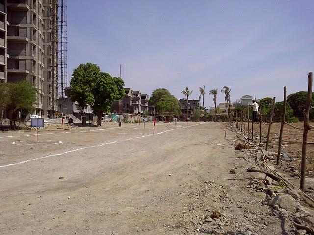 Site of C, B & A Buildings of Dreams Avani, 1 BHK & 2 BHK Flats on Shewalewadi Road, near Manjri Stud Farm, off Pune Solapur Highway, at Manjri Budruk Pune, 412 307