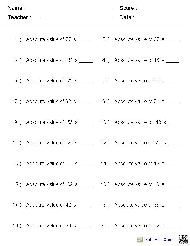 integer absolute value