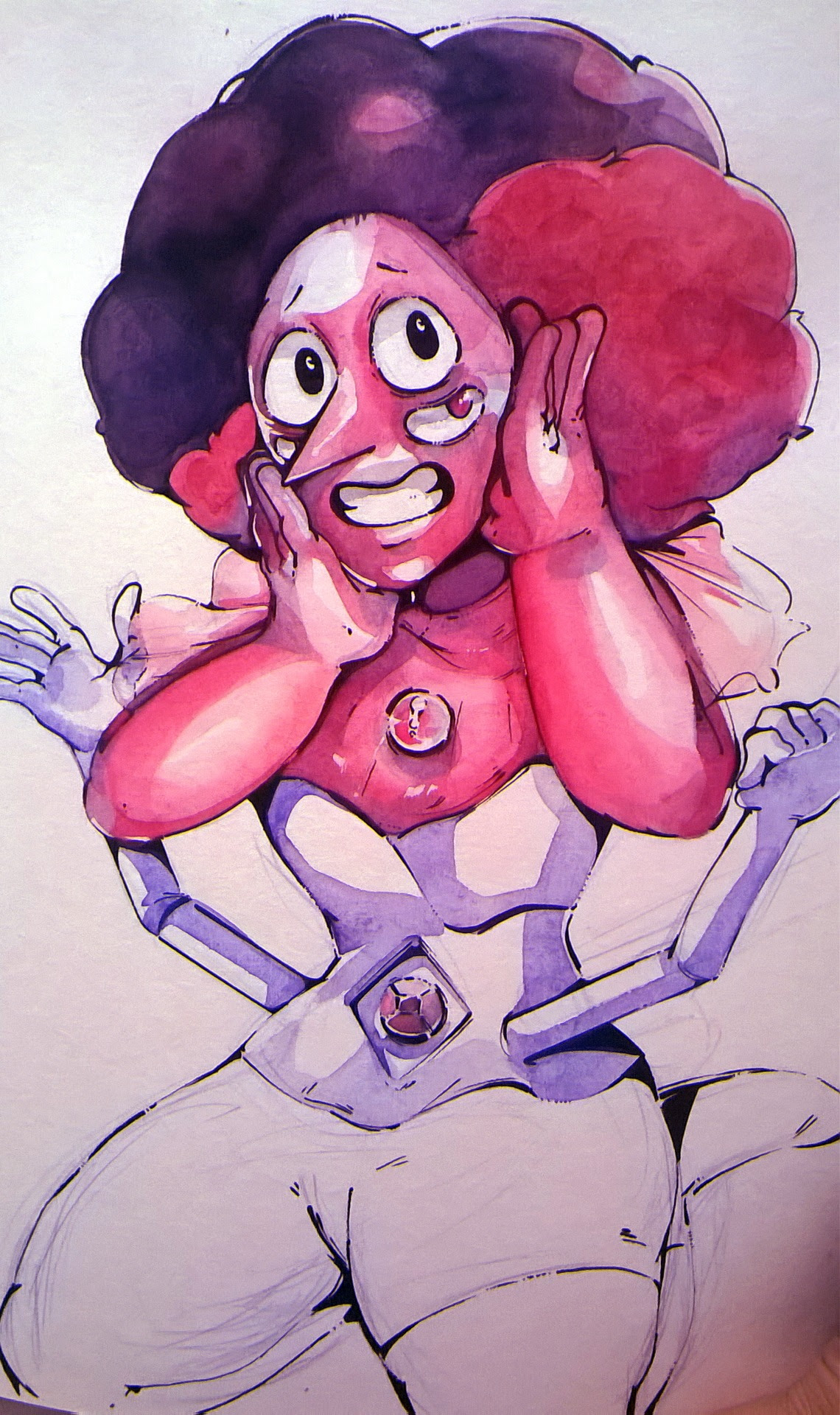 Unfinished Rhodonite