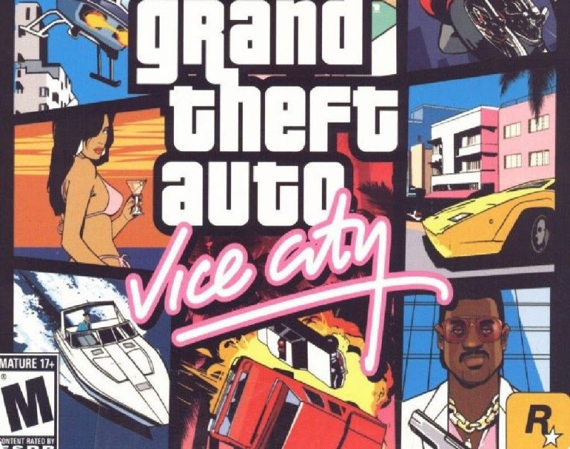 Grand Theft Auto Vice City highly compressed in 100MB