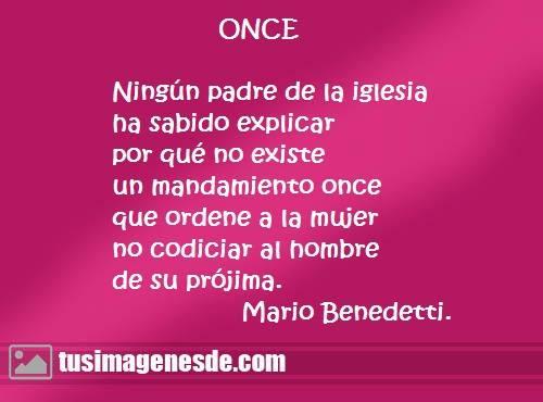 Frases De Amor Mario Benedetti Cortas Klewer Y