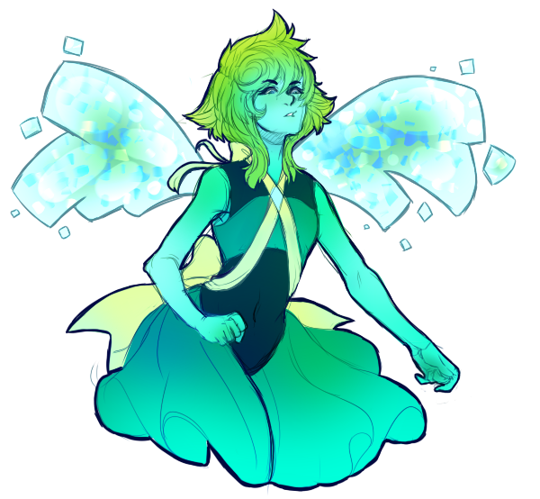 LOOK AT THIS GREAT LAPIS x PERIDOT FUSION!!!!! I commissioned it from my amazing artist friend @faolanmacaw !! His commission info is here ;))))
