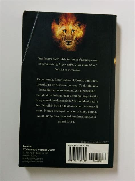 chronicles  narnia   lion  witch