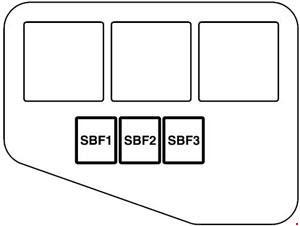 Mitsubishi Mirage 2012 Present Fuse Box Diagram Auto Genius