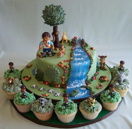 Cartoon Characters Birthday Cakes