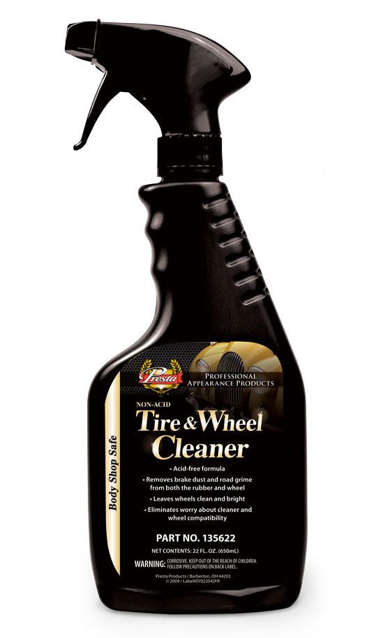 Non Acid Tire Wheel Cleaner