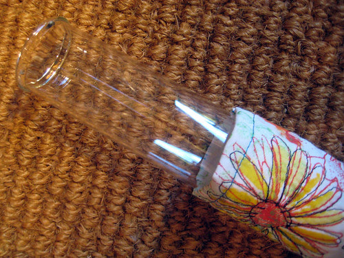 fabric vase