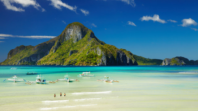 EL NIDO, PALAWAN. Majestic limestone formations make El Nido one of the best beaches in the Philippines, and according to CNN, the world.
