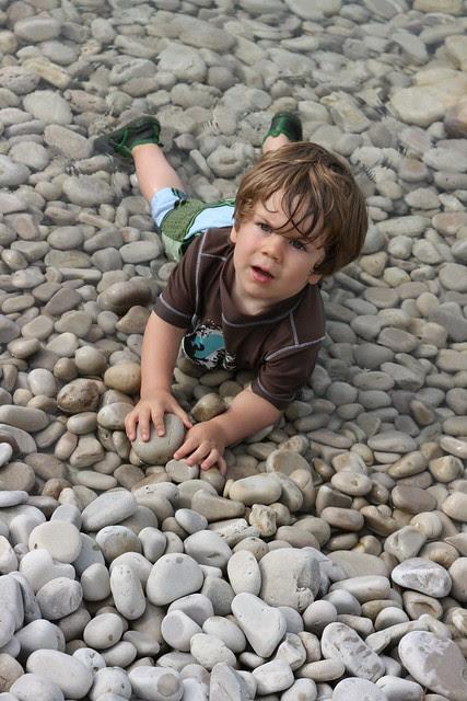 loves the rocks