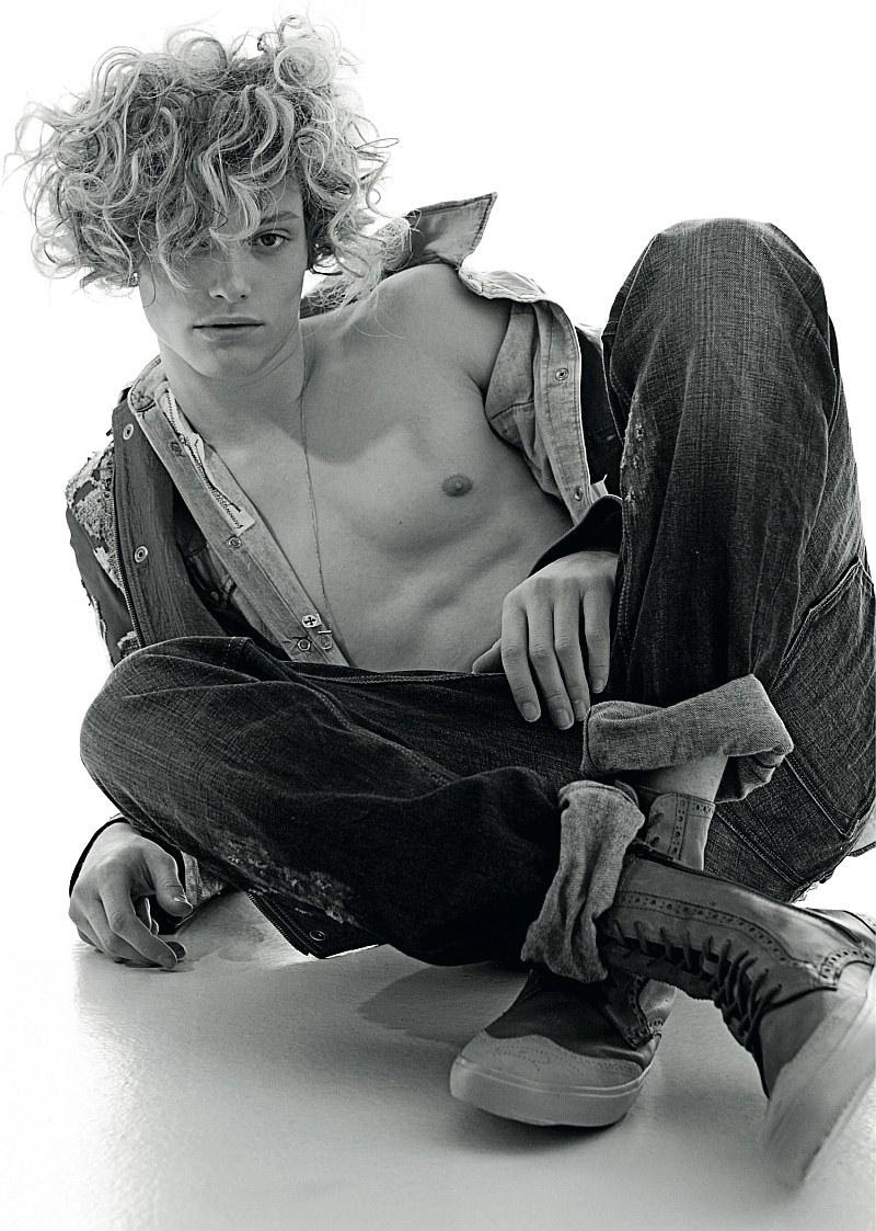 Chris Rayner by Damien Blottière in Tank magazine