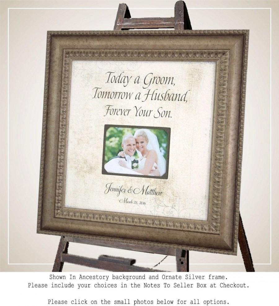 Mother Of The Groom Parents Wedding Sign Personalized Wedding