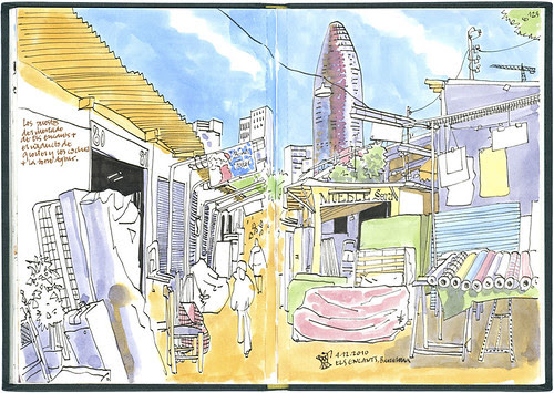Barcelona, 29 1/2th SketchCrawl #3