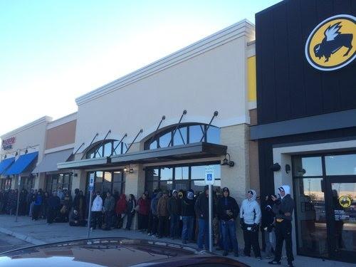 The Wait Is Over Buffalo Wild Wings Opens It S Doors Western Kansas News