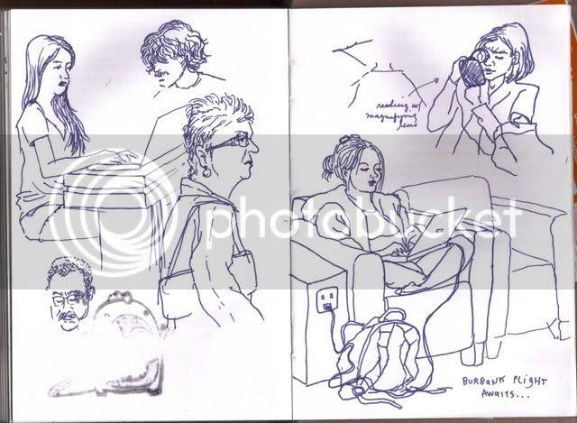 Burbank sketches