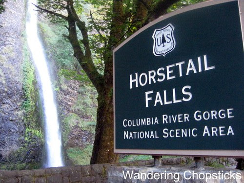 Day 4.4 Horsetail Falls - Columbia River Gorge - Oregon 1