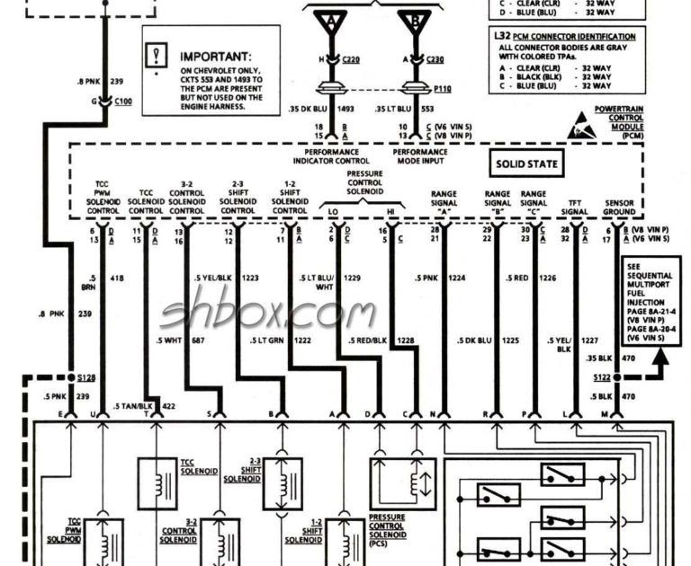 Chevy Truck Wiring Diagram For 1995