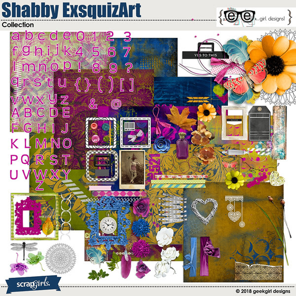 Shabby ExsquizArt Collection