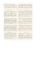 portrait A2 card size JPG Christmas GF Vintage sheet music SMALL SCALE