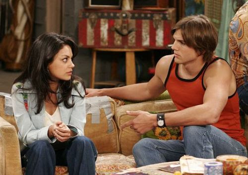 That '70s Show - Mila Kunis and Ashton Kutcher