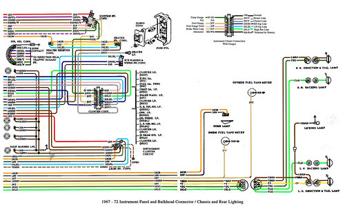 Color Wiring Diagram Finished The 1947 Present Chevrolet Gmc Truck Message Board Network