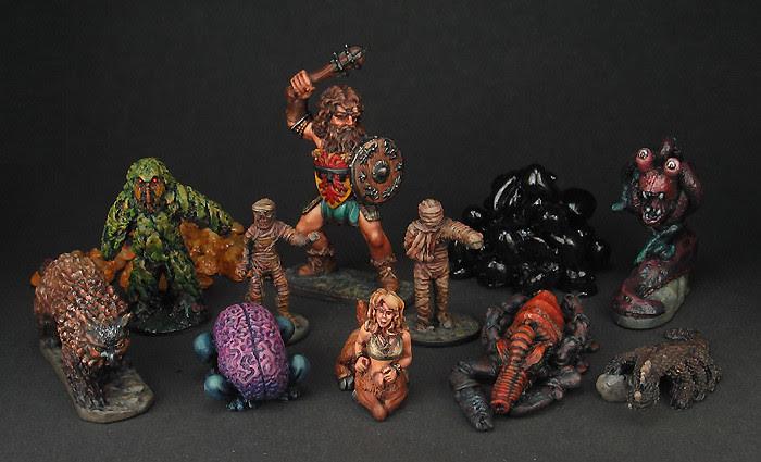 D&D high-level monsters family portrait